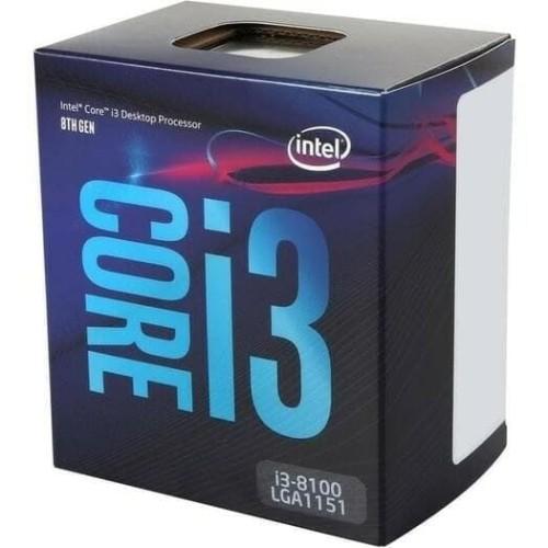 Foto Produk INTEL CORE i3-8100 BOX 3.6Ghz LGA (Socket 1151 Coffee Lake) dari toko expert komputer