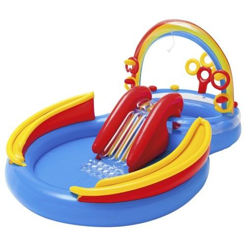 Foto Produk Intex Rainbow Ring Play Center. Kolam Karet Renang Anak dari Sportsite