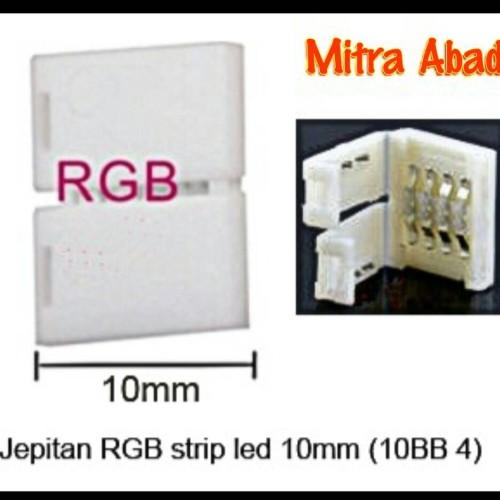 Foto Produk Clip Connector/Konektor Jepit for LED Strip RGB dari Toko Mitra Abadi