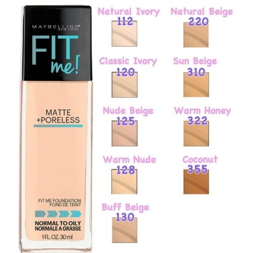 Foto Produk foundation maybeline fit me(0riginal) dari larozze kosmetik