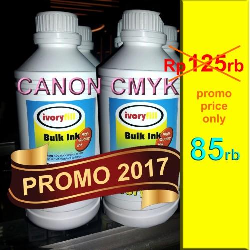 Foto Produk PROMO SALE ! TINTA CANON 1 Liter PROMO TAHUN BARU dari Si Pesek