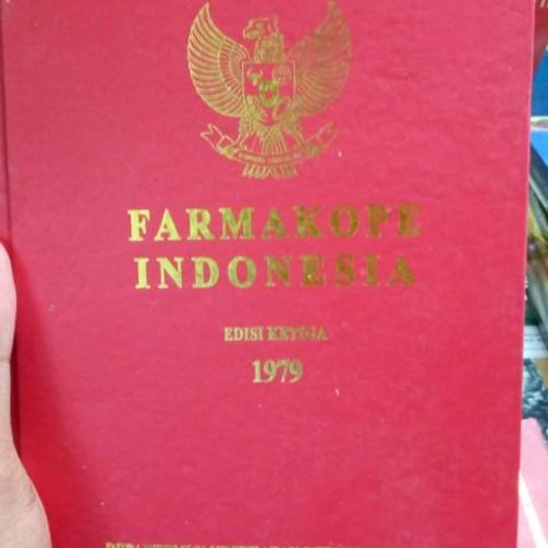 Foto Produk FARMAKOPE INDONESIA EDISI 3 dari Singkuan Pustaka