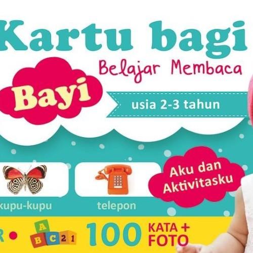 Foto Produk Kartu Bayi Belajar Membaca Usia 2-3 Tahun by Tim Bip dari Dojo Buku