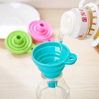Foto Produk Corong AIR MINYAK Silicone Lipat Portable dari dfanccie house