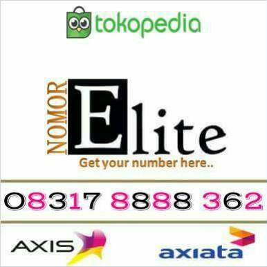 Jual Promo Murah Axis Cantik Kwartet 8888 Kota Padang Nomor Elite Tokopedia