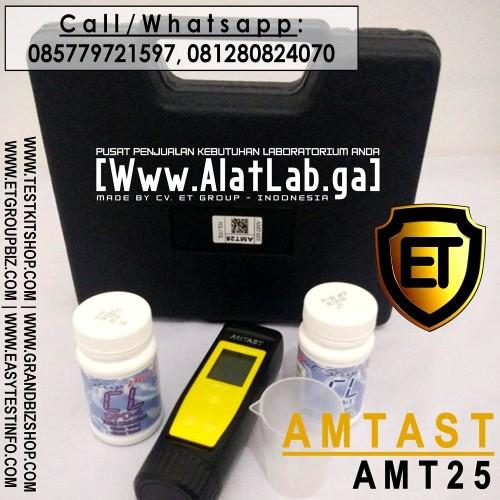 Foto Produk Test Kit Alat Ukur Klorine (Chlorine Meter/ Tester) Digital AMT25 dari easytest