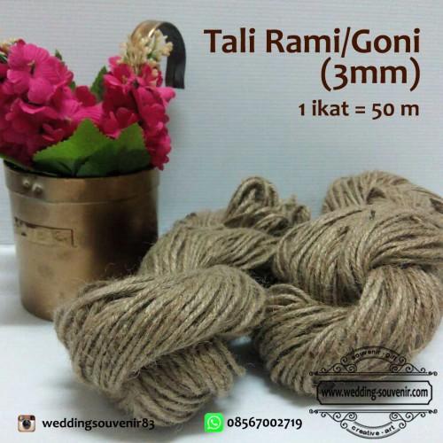 Foto Produk Tali Rami atau Goni 3mm dari Wedding Souvenir Jakarta