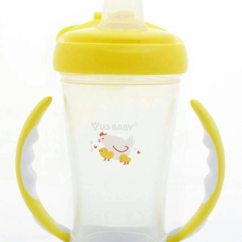 Foto Produk Us Baby Spout Training Cup 245ml Yellow dari Kenmomshop
