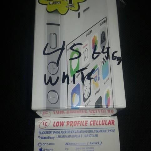 Foto Produk Iphone 4s 64gb white dari AlatOnline