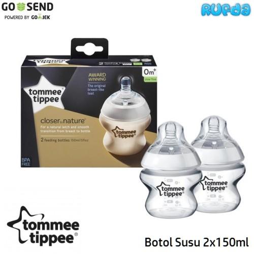 Foto Produk Tommee Tippee Botol Susu 150ml (2pcs), Baby Bottle dari Rufda