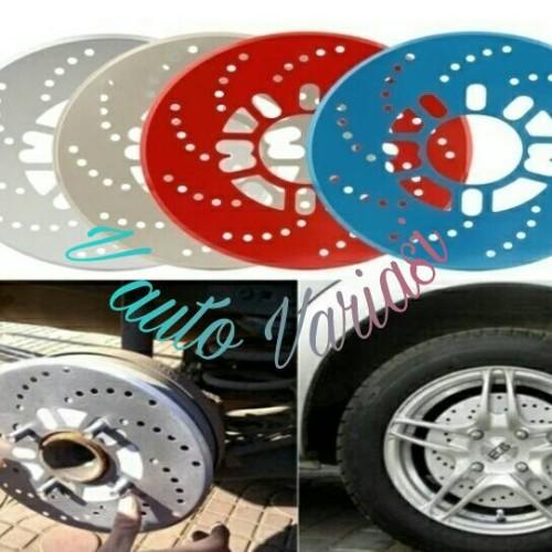 Foto Produk fake brake / cover tromol mobil / cover rem tromol - Silver dari vauto