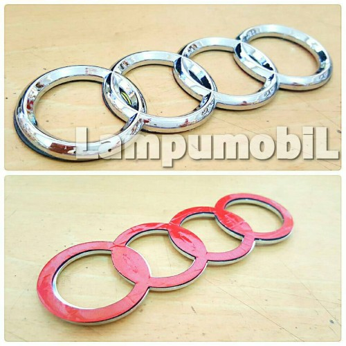 Foto Produk Emblem Logo Mobil Audi dari LampuMobil