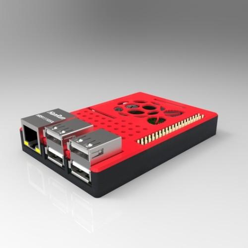 Foto Produk Raspberry Pi Case 2 / Raspberry Pi Case 3 / Raspberry Pi B+ Screwless dari BIKIN3D
