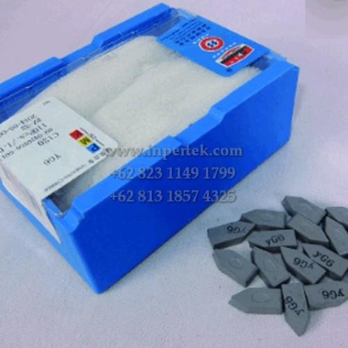 Foto Produk Mata Widia C125 | Betel | Tip Widia | Mata Bubut Widia Carbide Netral dari Teknikloak