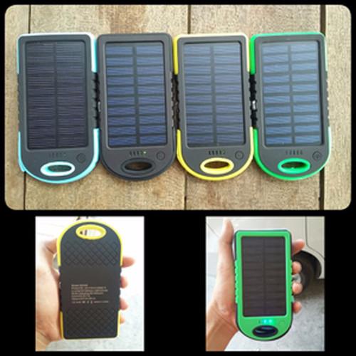 Foto Produk Powerbank Solar - Tenaga Surya 118000 mAh dari Lapak Anda