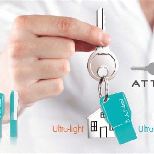Foto Produk PNY Flashdisk - Key Attache - Garansi 5 Tahun dari Lapak Anda