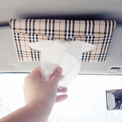 Foto Produk Car Vehicle Sun visor Tissue Napkin Clip Holder - Tempat Tisu Sun Viso dari Lapak Anda