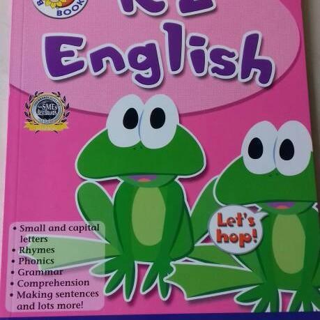 Foto Produk BK - English K2 (SGAE6107) dari Little Bookworm