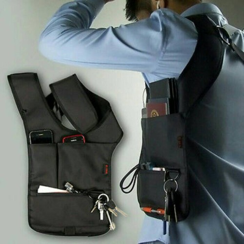 Foto Produk tas selempang anti maling tactical (Polisi, FBI, Travel Shoulder bag) dari zazoulstore