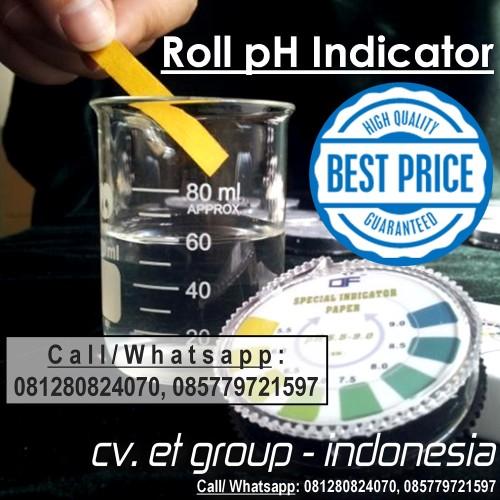 Foto Produk DF UNIVERSAL Roll pH Indicator Paper : Kertas pH Rol Indikator pH 1-14 dari easytest