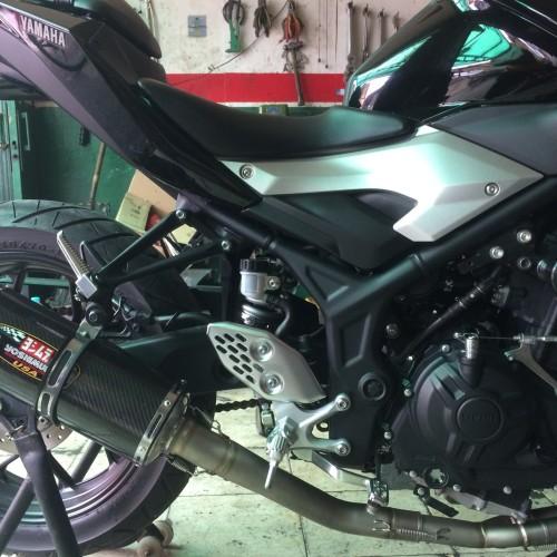 Foto Produk Header Knalpot Custom Arcspeed Yamaha R25/ MT25 dari Arcspeedshop