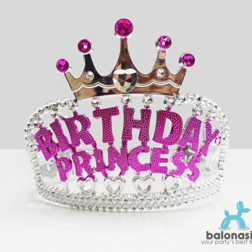 Foto Produk Crown Birthday Princess / Mahkota Ulang Tahun Putri dari Balonasia