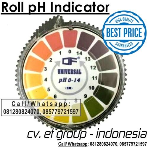 Foto Produk DF UNIVERSAL Roll pH Indicator Paper | Kertas pH Rol Indikator pH 1-14 dari Sooper Shop