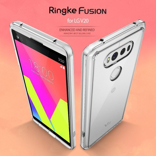 Foto Produk CASING RINGKE FUSION LG V20 , HARDCASE LG V20 2016 RINGKE FUSION ORI dari Dukun Gadget Acc