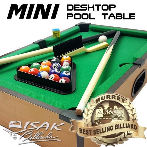 Foto Produk Mini Desktop Billiard Pool Table - Mainan Hadiah Anak Meja Biliar Mini dari ISAK Billiard Sport Co.