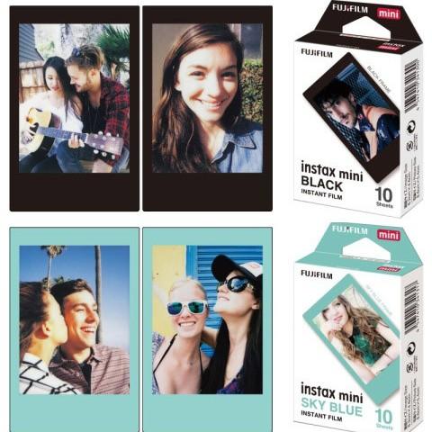Foto Produk Refill Fujifilm Instax mini Black atau Sky Blue - isi 10 lembar dari Milo Shoes