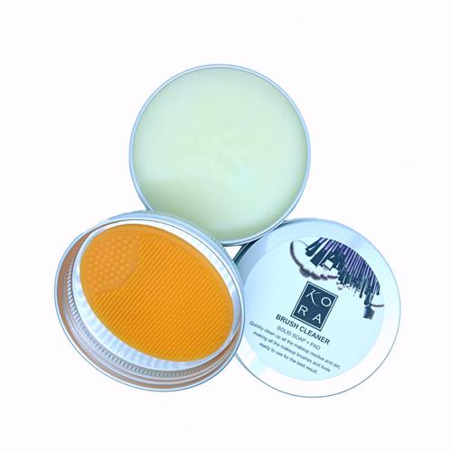 Foto Produk KORA Makeup Brush Soap (Include pad) Kuas Makeup Higienis dg KORA dari twindshop