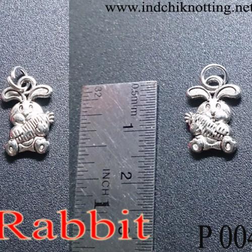 Foto Produk Liontin Shio Kelinci Silver Alloy Produk Impor dari IndChiKnotting
