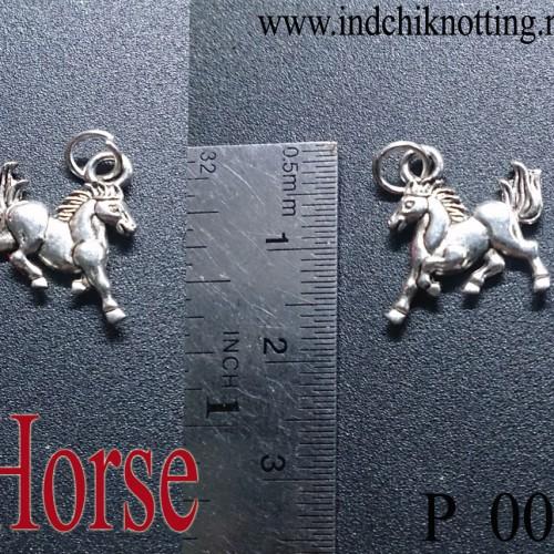 Foto Produk Liontin Shio Kuda Silver Alloy Produk Impor dari IndChiKnotting