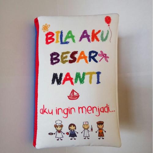 Foto Produk Buku Bantal Mungil / Mini Softbooks : Seri Profesi dari Wafi Bebe