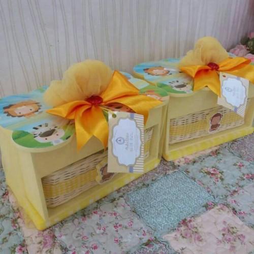Foto Produk souvenir hampers wooden baby one month newborn aqiqah ulangtahun dari Elaine shopping