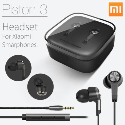 Foto Produk Handsfree Hf Xiaomi MI PISTON GEN 3 (Earphone, headset, headphone) dari KortingStore