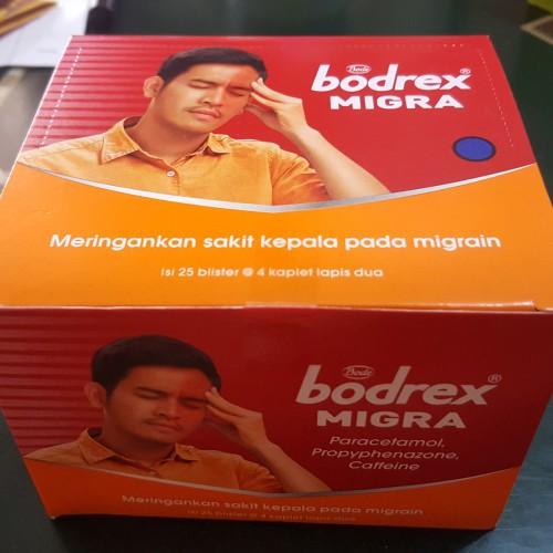 Foto Produk Bodrex Migra 1Box dari Apt Sentosa