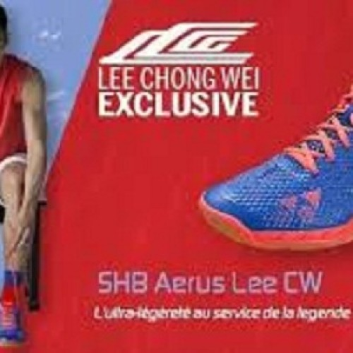 Foto Produk Sepatu Badminton Yonex Edisi Lee Chong wei LCW Aerus (Original) dari Hobbysportstore