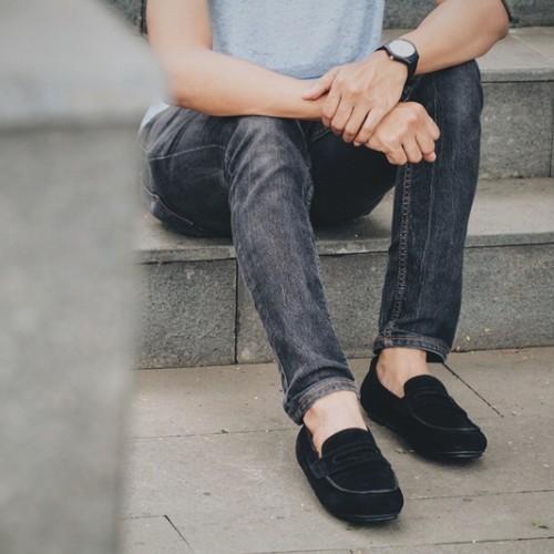 Foto Produk Sepatu Pria Jack Footwear MOCCASIN BLACK dari Bokangco Store