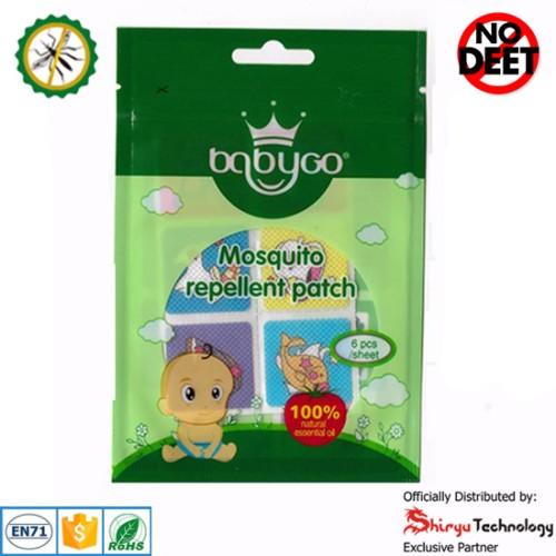 Foto Produk BabyGo Mosquito Repellent Patch ZODIAC (Sticker Anti Nyamuk) - 6 pcs dari Shiryu