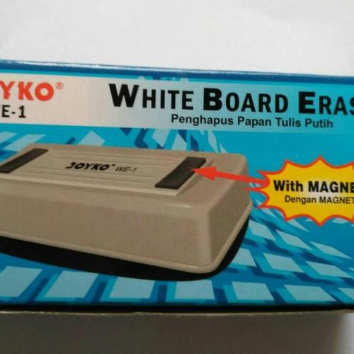 Foto Produk Penghapus Papan Tulis - White Board Eraser Joyko WE1 ( Dengan Magnet ) dari Toko ATK JKT