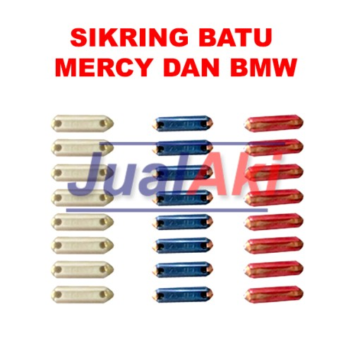 Foto Produk Sikring Batu Mercy / BMW (Sekring Mobil Type GBC) dari JualAki