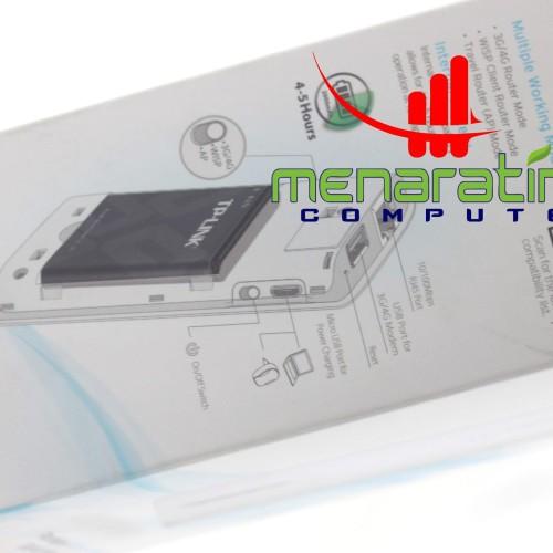 Foto Produk TP-LINK PORTABLE 3G/4G WIRELESS N ROUTER TL-MR3040 dari menaratimurcomputer
