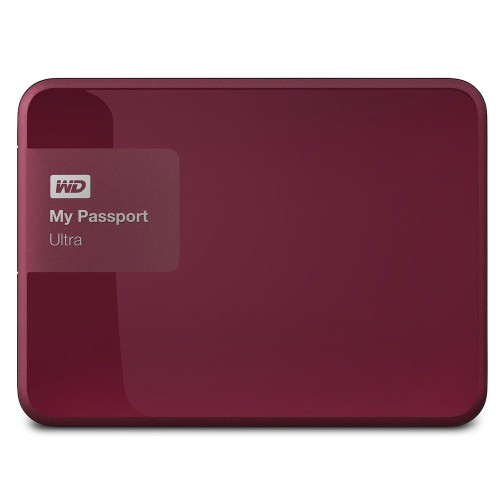 Foto Produk WD My Passport Ultra 2nd Generation USB 3.0 - 3TB - Red ORIGINAL dari JS Sby Store