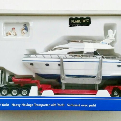Foto Produk Siku Super 1849 Heavy Haulage Transporter with Yacht dari bermain_id