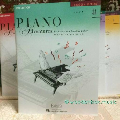 Foto Produk Piano Adventures: Level 3A - Lesson Book (FABER) 2nd Ed. dari WoodenBox