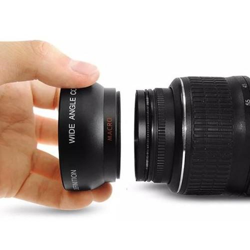 Foto Produk Rajawali Wide-Macro Converter Lens 58mm For Canon, Nikon,Fujifilm dari Rajawalidigital