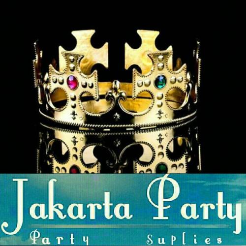 Foto Produk Gold King Crown / Mahkota Raja / Mahkota Pesta / Mahkota Ultah dari Jakarta Party