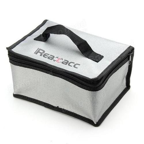 Foto Produk Realacc Fire Retardant Lipo Bag (220x155x115mm) With Handle dari IndoWebstorecom