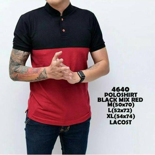 Foto Produk polo shirt black red dari Indoimnesia official